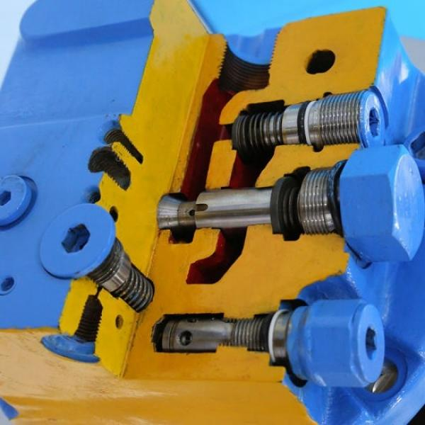 Hitachi HMGF39DA Hydraulic Fianla Drive Motor #3 image